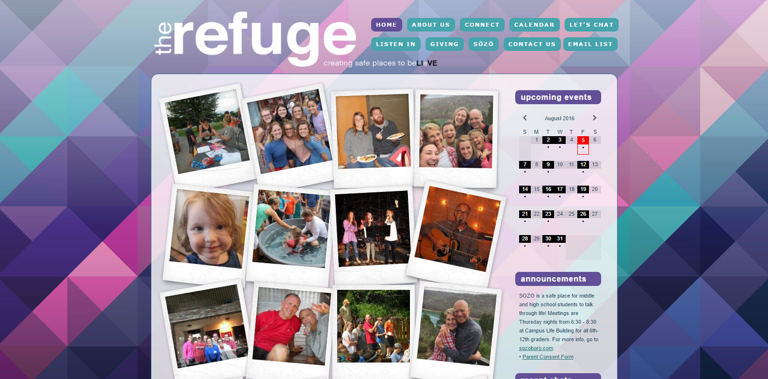 The Refuge Murfreesboro<div style='clear:both;width:100%;height:0px;'></div><span class='cat'>Non-Profit</span>