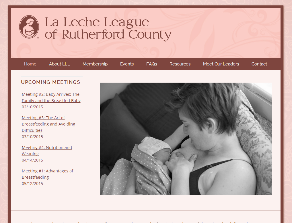 La Leche League of Rutherford Co.<div style='clear:both;width:100%;height:0px;'></div><span class='cat'>Individual/Group, Non-Profit</span>