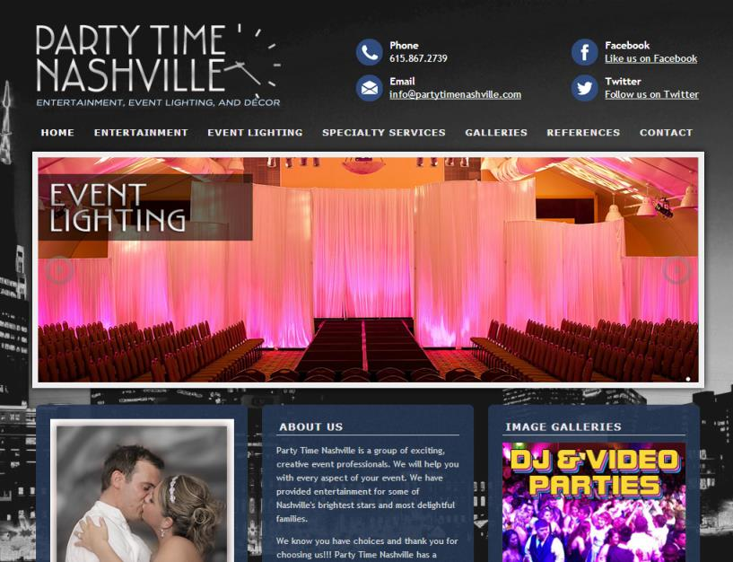 Party Time Nashville<div style='clear:both;width:100%;height:0px;'></div><span class='cat'>Small Business</span>