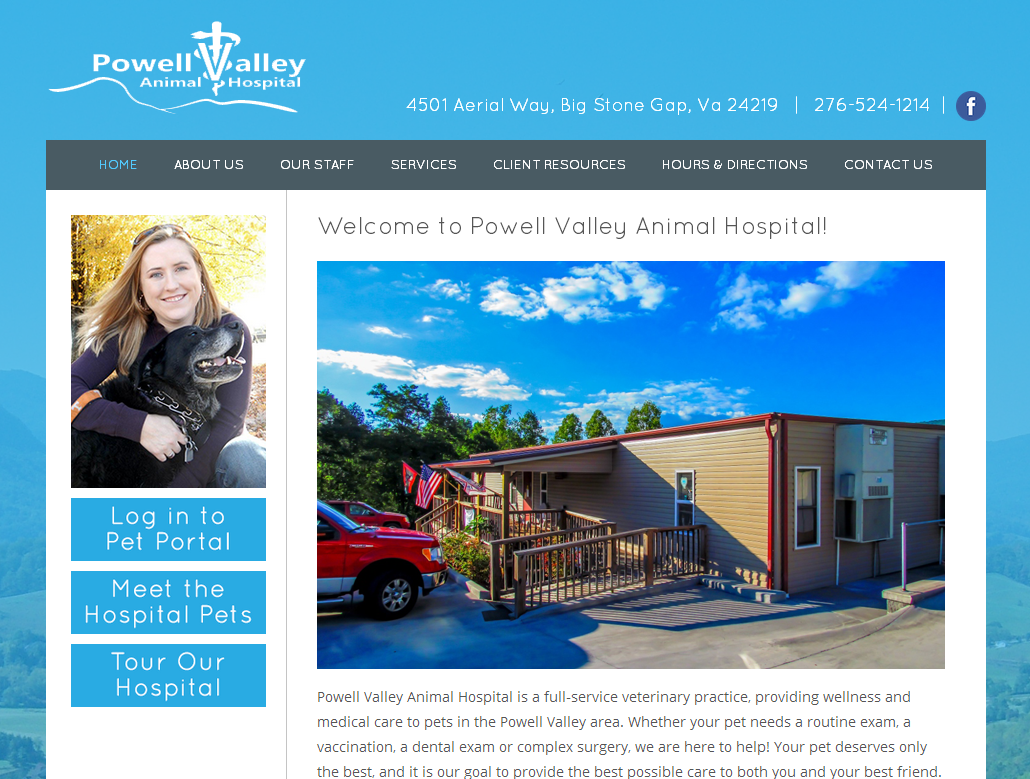 Powell Valley Animal Hospital<div style='clear:both;width:100%;height:0px;'></div><span class='cat'>Small Business</span>
