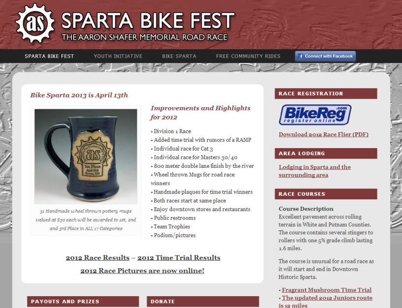 Sparta Bike Fest<div style='clear:both;width:100%;height:0px;'></div><span class='cat'>Individual/Group</span>