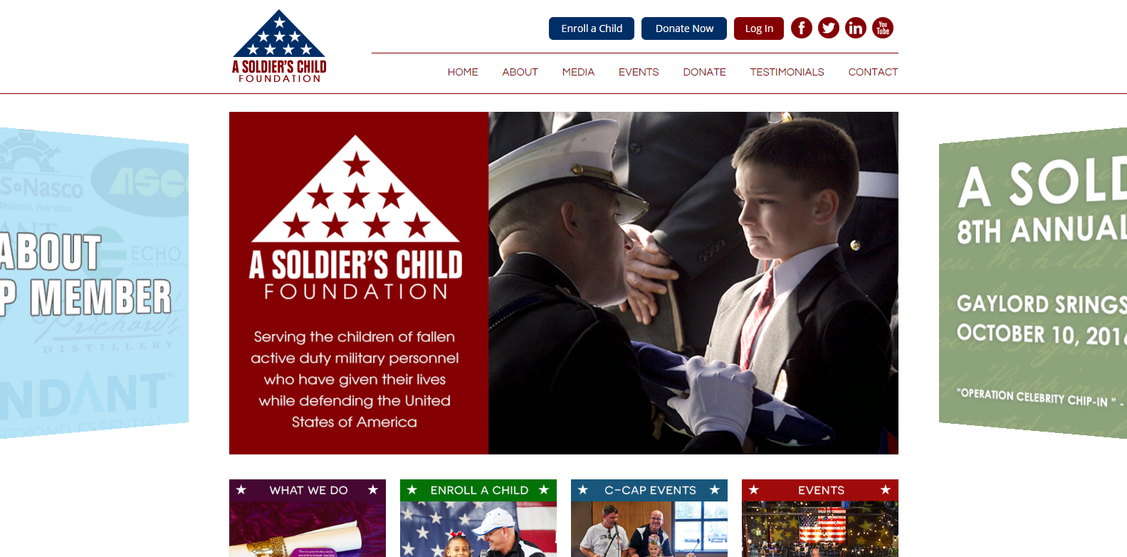 A Soldier's Child<div style='clear:both;width:100%;height:0px;'></div><span class='cat'>Non-Profit</span>