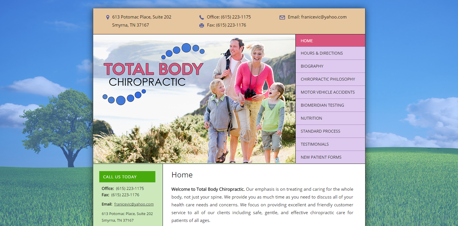 Total Body Chiropractic<div style='clear:both;width:100%;height:0px;'></div><span class='cat'>Small Business</span>