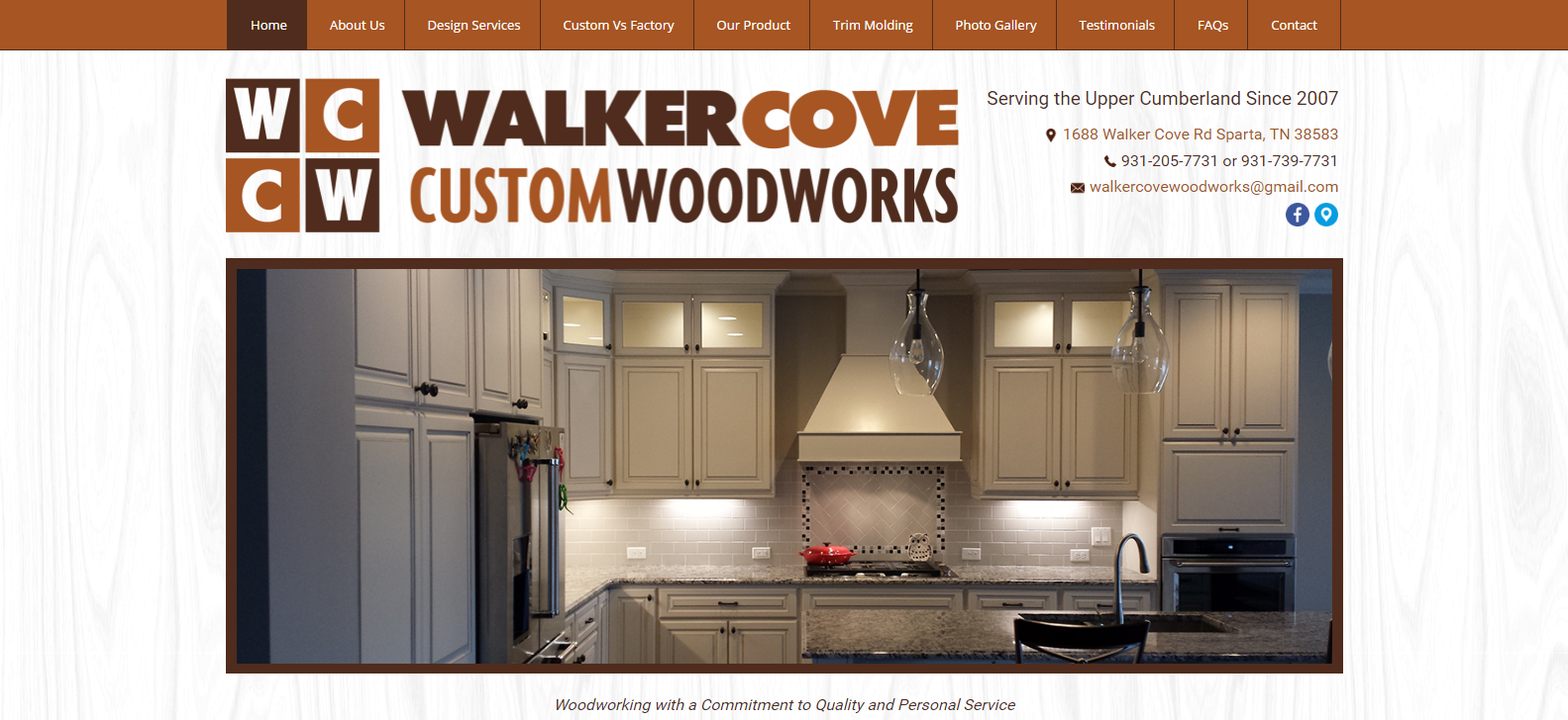 Walker Cove Custom Woodworks<div style='clear:both;width:100%;height:0px;'></div><span class='cat'>Individual/Group, Small Business</span>