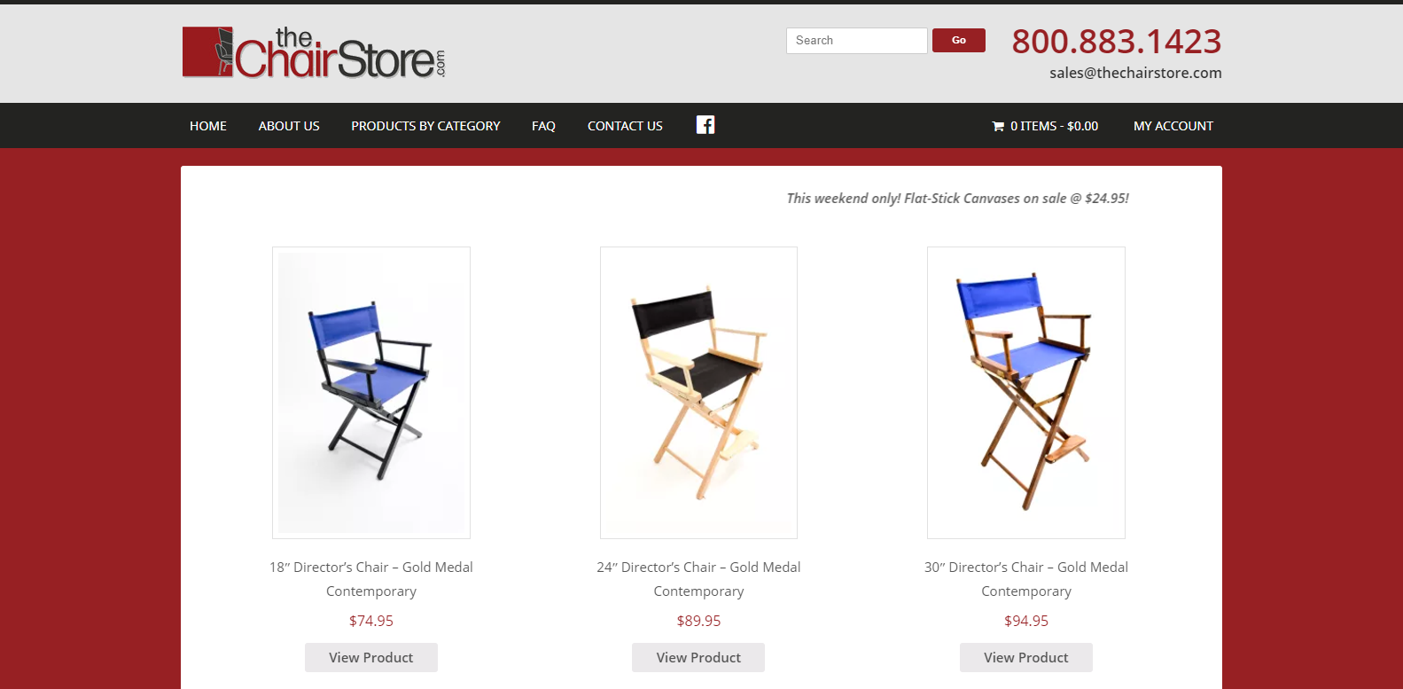 The Chair Store<div style='clear:both;width:100%;height:0px;'></div><span class='cat'>Ecommerce</span>