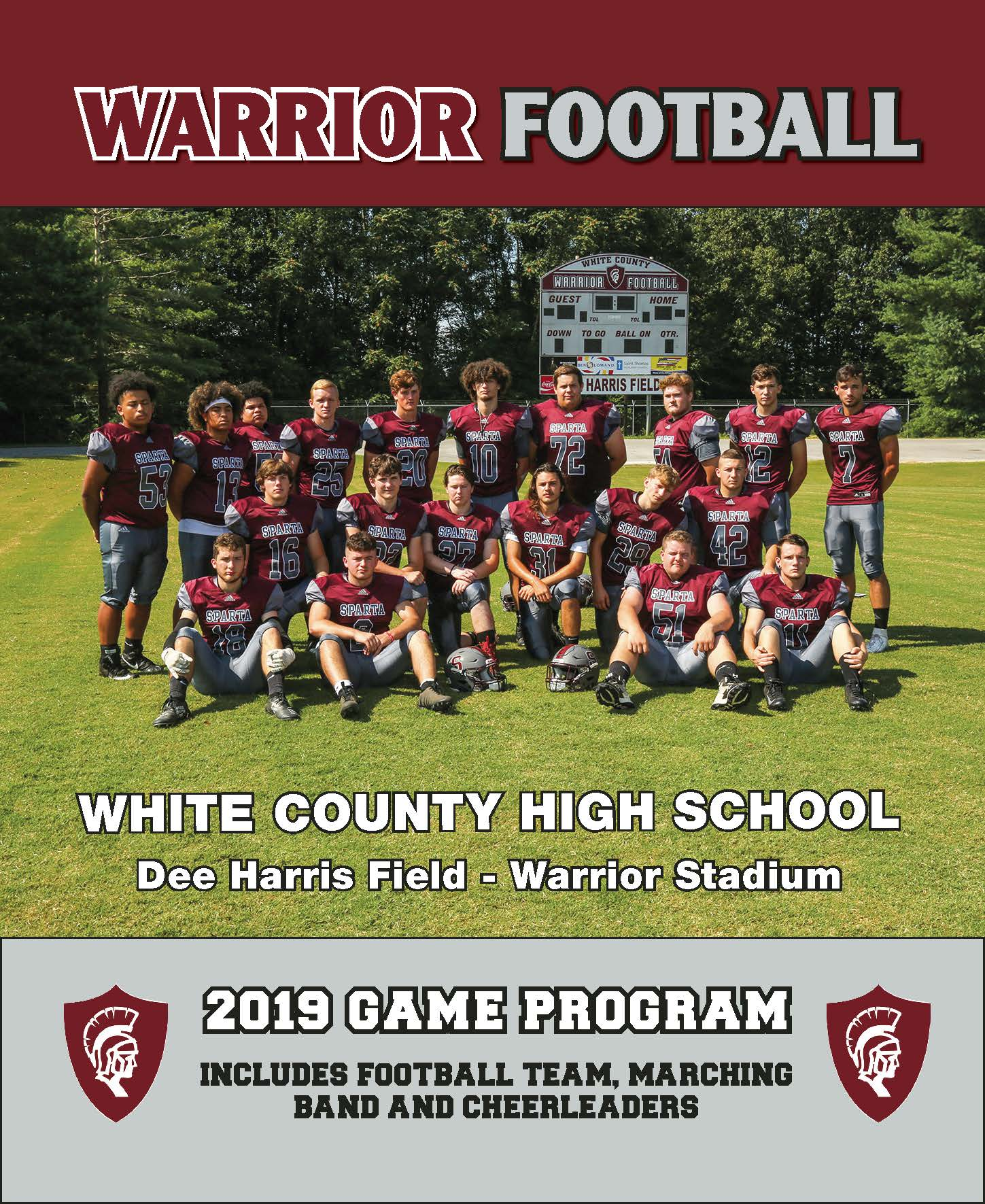 2019 WCHS Football Program<div style='clear:both;width:100%;height:0px;'></div><span class='cat'>Logos and Printwork</span>